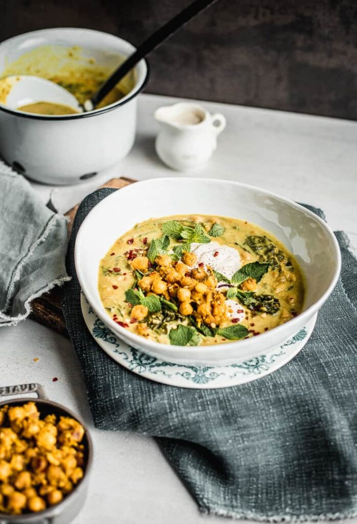 Spiced Chickpea Stew with Curry and Coconut